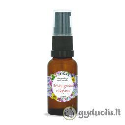 """Aliejų mišinys veido masažui """"Deivių grožio eliksyras"""", AROMAMA, 20 ml"""
