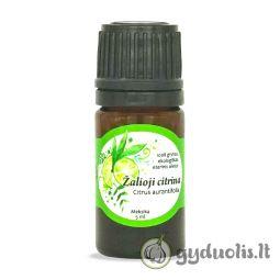 Žaliosios citrinos eterinis aliejus, AROMAMA, 5 ml