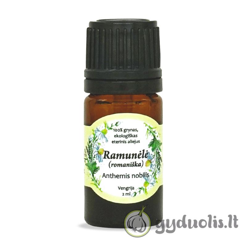 Ramunėlių (romaniškų) eterinis aliejus, AROMAMA, 2 ml