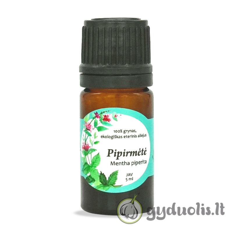 Pipirmėčių eterinis aliejus, AROMAMA, 5 ml