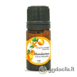 Mandarinų eterinis aliejus, AROMAMA, 5 ml