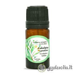Eukaliptų (spindulinių) eterinis aliejus, AROMAMA, 5 ml