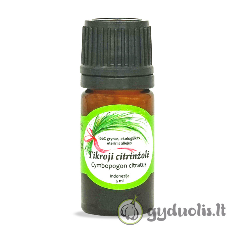 Citrinžolių eterinis aliejus, AROMAMA, 5 ml