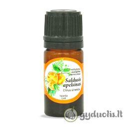 Apelsinų eterinis aliejus, AROMAMA, 5 ml