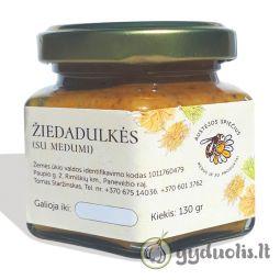 Žiedadulkės su medumi, AUSTĖJOS SPIEČIUS, 130 g
