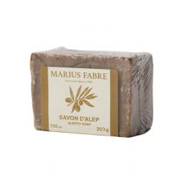 """Aleppo muilas su alyvuogių ir lauro lapų aliejumi """"Savon D'Alep"""", 30 proc., MARIUS FABRE, 170 g"""